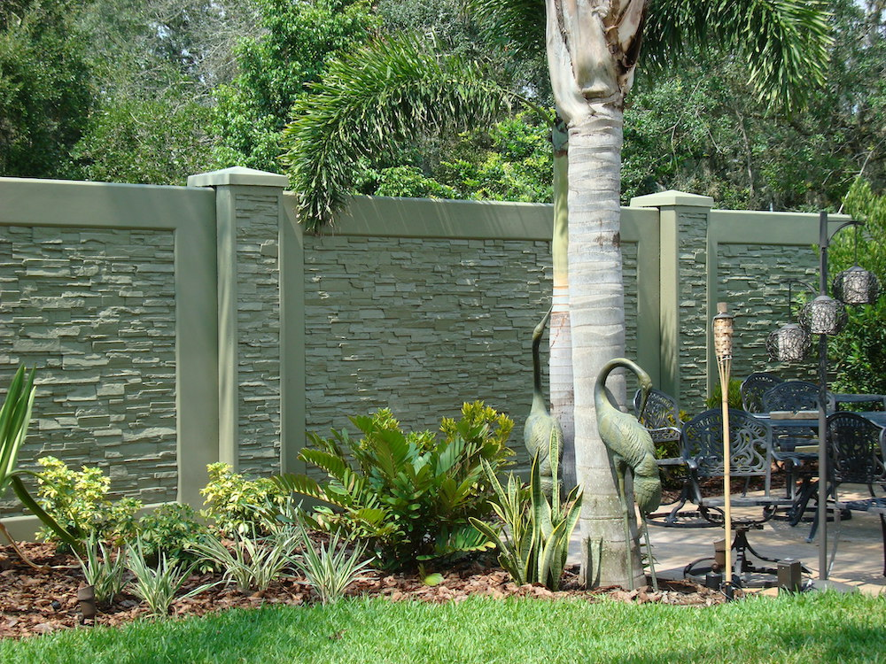 precast concrete in a green, beautiful, tropical setting