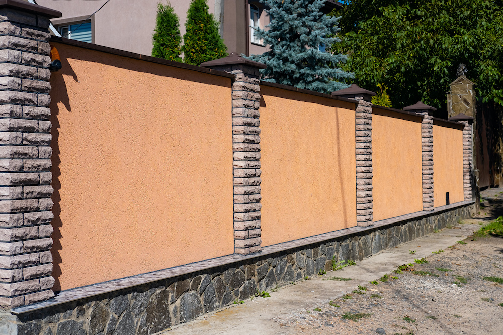 beautiful precast concrete outside of a home approved by an HOA